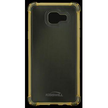 Kisswill Shock TPU pouzdro pro Samsung A310 Galaxy A3 2016, zlatá
