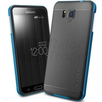 Spigen pouzdro Neo Hybrid pro Galaxy Alpha, modrá