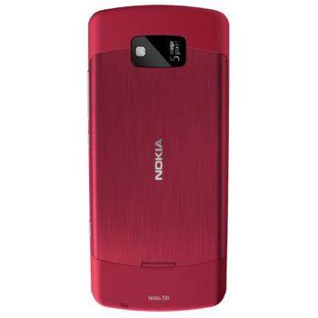 Nokia 700 Red + záložní zdroj a nabíječka Belkin Battery Pack 1000mAh (vč.micro USB kabelu) F8M158cw