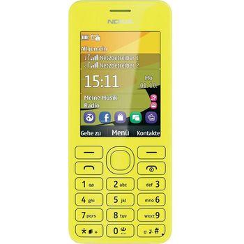 Nokia 206 Dual SIM žlutá