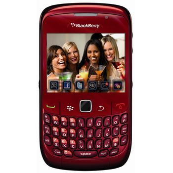 BlackBerry 8520 Curve Red QWERTY