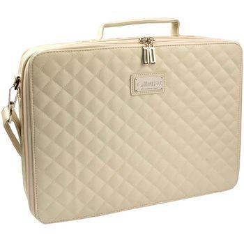 """Krusell COCO Laptop Slim taška na notebook - do 16"""" - krémová"""