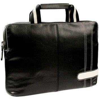 """Krusell Gaia Laptop Slim taška na notebook - do 14"""" - černá/krémová"""