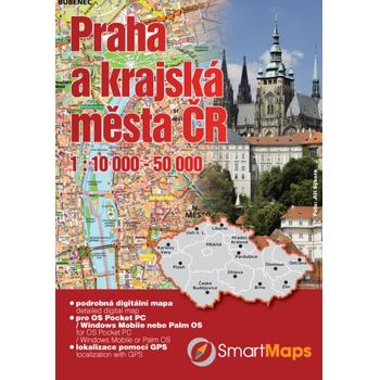 SmartMaps Locator: Podrobná mapa ČR 1:10.000 (Windows Mobile/Win CE/Symbian/Android)