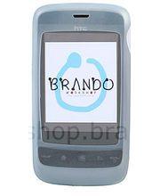 Silikonové pouzdro - HTC Touch 2 (ledová)