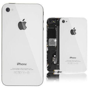 Náhradní díl originální zadní kryt pro iPhone 4S, bílý