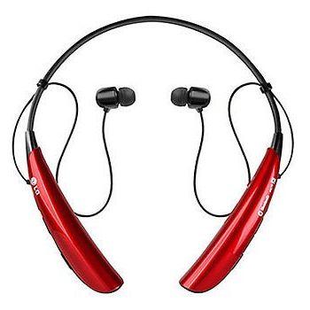 LG Bluetooth Stereo Headset HBS-750 Tone Pro, červený