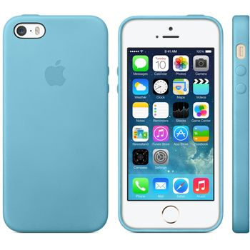 Apple originální kryt pro iPhone 5S, modrá
