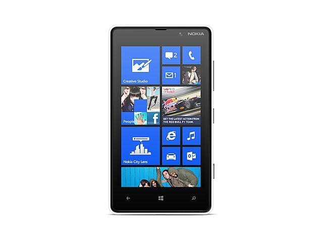 obsah balení Nokia Lumia 820 White