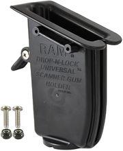 RAM Mounts univerzální držák na ruční čtečky čárových kodů, s pojistkou, RAP-317U