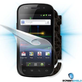 Fólie ScreenShield Samsung  Nexus S - + imitace kůže