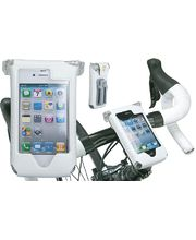 Topeak SmartPhone Dry Bag držák na kolo, pro iPhone 4 bílá
