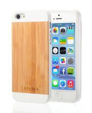 Esperia Evoque White Bamboo kryt pro iPhone 5/5S