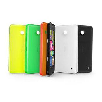 Nokia CC-3079 pevný kryt Nokia Lumia 630/635, černá