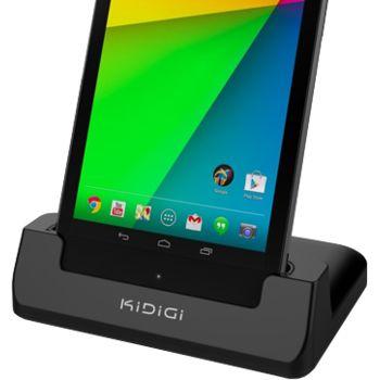 Kidigi dobíjecí a synchronizační kolébka pro Nexus 7 (2013), černá