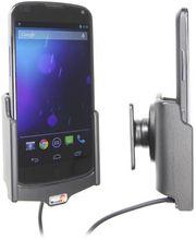 Brodit držák do auta na LG Nexus 4 bez pouzdra, s nabíjením z cig. zapalovače