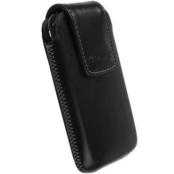 Krusell pouzdro Vinga M - iPhone 4/3GS, HTC Desire C/HD Mini/Wildfire 112x57x13mm (černá)