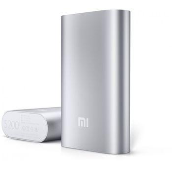Xiaomi záložní baterie NDY-02-AH PowerBank, 5200mAh, stříbrná