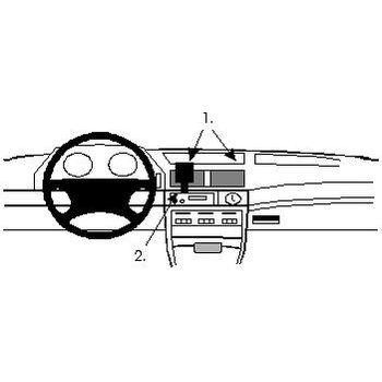 Brodit ProClip montážní konzole pro BMW 730-750 E32 87-94, na střed