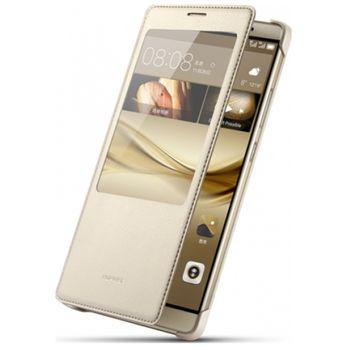 Huawei flipové pouzdro Smart Cover pro Mate 8, zlaté