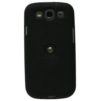 Tetrax XCase Silikonové pouzdro pro Samsung i9300 Galaxy S3 černá pro magnetický držák