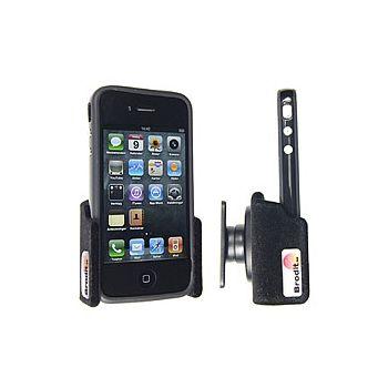 Brodit držák do auta na Apple iPhone 4S/4 s bumperem bez nabíjení samet