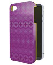 Kryt Leitz Complete Retro Chic pro iPhone 4/4S fialový