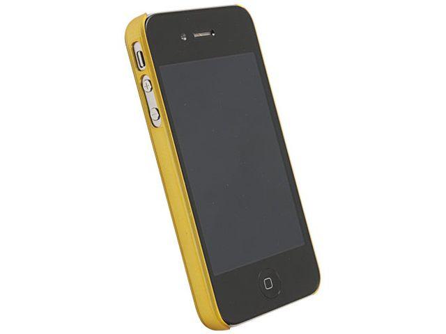obsah balení Krusell hard case - ColorCover - Apple iPhone 4/iPhone 4S (žlutá)