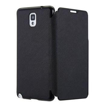 ANYMODE pouzdro typu kniha pro Samsung Galaxy Note 3, PU kůže, černé