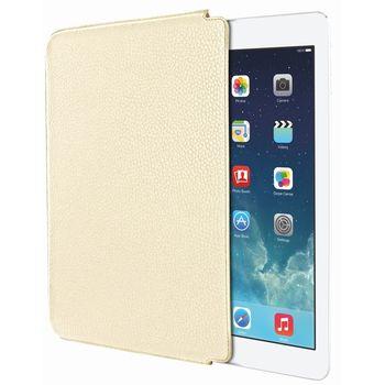 Piel Frama pouzdro pro iPad Air Unipur, Cream (kvalitní kůže, ruční výroba ve španělské manufaktuře)