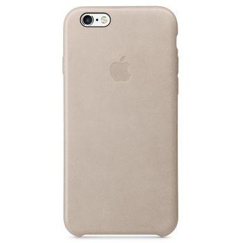 Apple kožené pouzdro pro iPhone 6s, šedá
