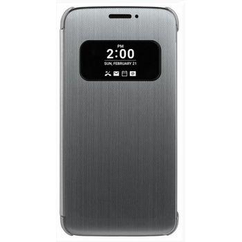 LG flipový kryt CFV-160 pro LG G5 H850, stříbrný