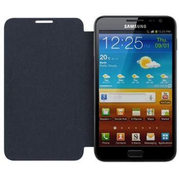 Samsung pouzdro polohovací se zadním krytem EFC-1E1F pro Galaxy Note N7000 (i9220), černá, rozbaleno