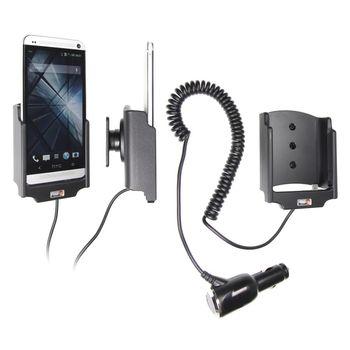 Brodit držák do auta pro HTC One s nabíjením + adaptér pro snadné odebrání držáku z proclipu