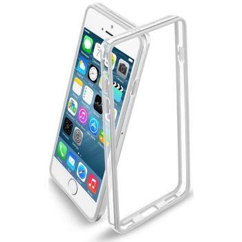 CellularLine ochranný rámeček Bumper pro iPhone 6 4.7, bílý