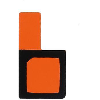 Náhradní díl voděodolný lepící štítek pod mikrofon pro Sony D5503 Xperia Z1 Compact