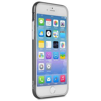 Puro ochranný rámeček Bumper Cover s fólií pro iPhone 6 4.7, černý