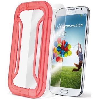 CellularLine Perfetto ochranná fólie na displej s aplikátorem pro Samsung Galaxy S4 - lesklá