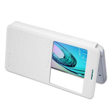 Nillkin flipové pouzdro Sparkle S-View pro Samsung Galaxy A3 (2016), bílé