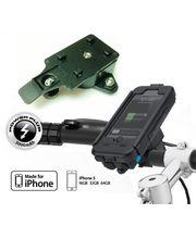 Voděodolný držák na motorku na iPhone 5 se záložním akumulátorem 3000mAh s adaptérem pro RAM