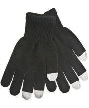 Zimní kapacitní rukavice - M - pro iPhone, iPad, HTC, Samsung, LG, Motorola, SonyEricsson - černá