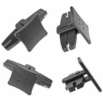 Brodit montážní konzole na opěrku hlavy pro standart VESA 75x75mm, rozteč 95 - 155 mm