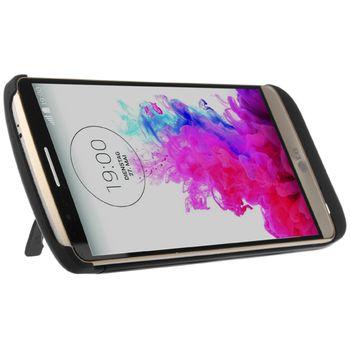 Brando plastové pouzdro s přídavnou baterií pro LG G3, 3800mAh, černá