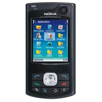 Nokia N80 - bazar - skvělý stav, záruka 6m + pouzdro Krusell zdarma