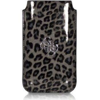 Guess Leopard kožené pouzdro, vel. L