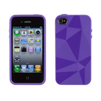 Speck pouzdro GeoMetric pro iPhone 4 - fialová