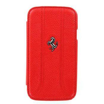 Ferrari Folio kožené pouzdro Galaxy S III, červené