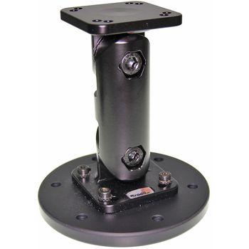 Brodit montážní podstavec 124mm, včetně podstavce s průměrem 100mm, hliník/plast