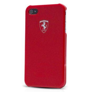 Ferrari Scuderia Metalic zadní kryt iPhone 5, červený