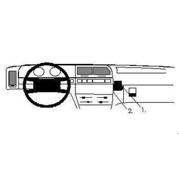 Brodit ProClip montážní konzole pro Citroen Xantia 93-97, na střed vpravo